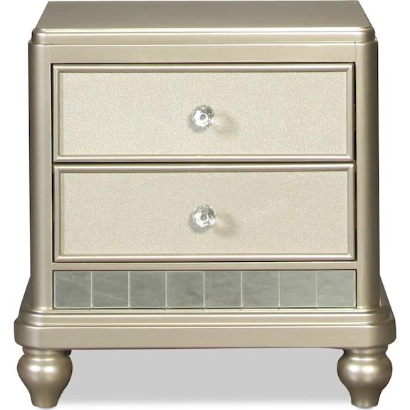 Kids Furniture - Lil Posh Nightstand - Platinum
