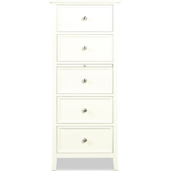 Bedroom Furniture - Ellsworth Lingerie Chest - White