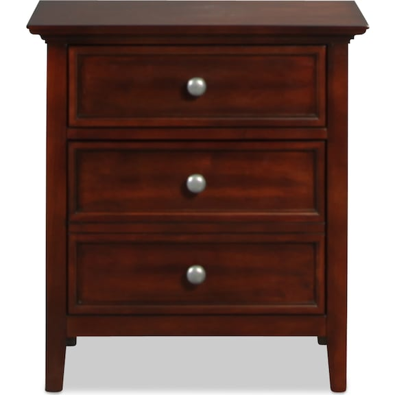 Kids Furniture - Ellsworth Nightstand - Cherry