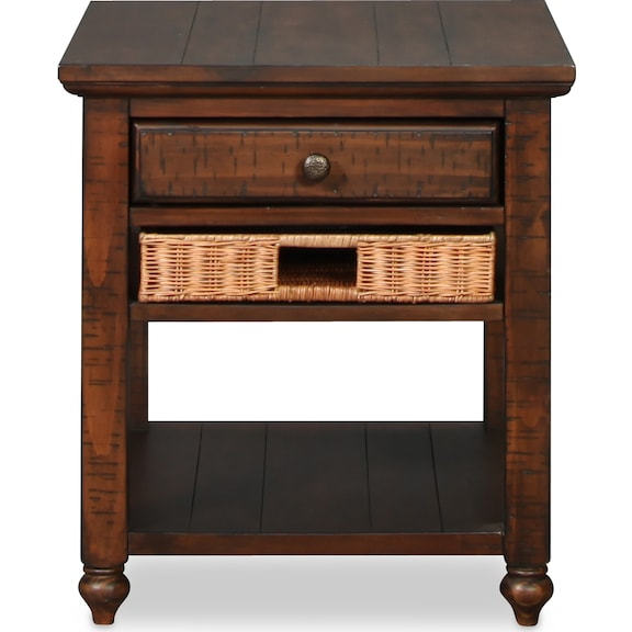 Accent and Occasional Furniture - Cottage Lane End Table - Coffee