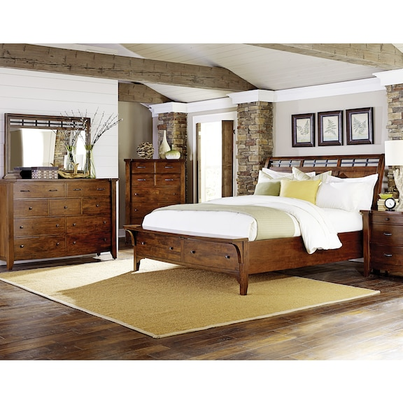 Bedroom Furniture - Mckennon 4pc King Bedroom