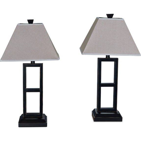 Home Accessories - Table Lamps - Black