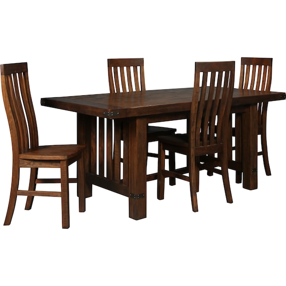 Dining Room Furniture - Everett 5pc Dining