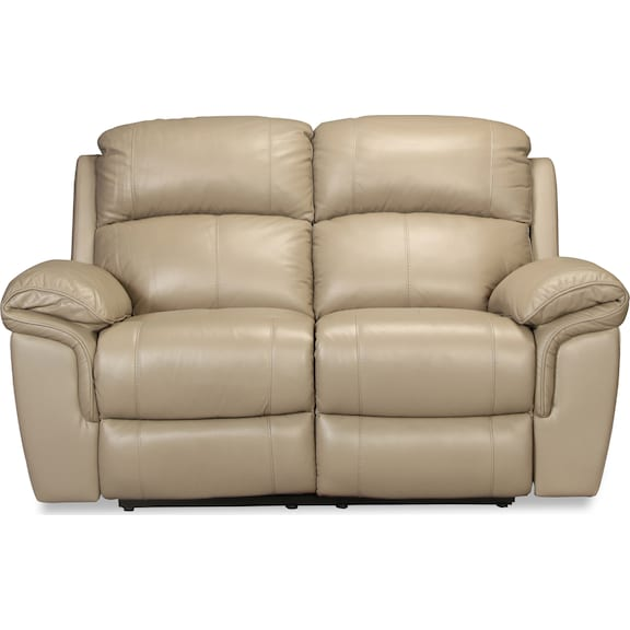 Living Room Furniture - Braxton Power Reclining Loveseat