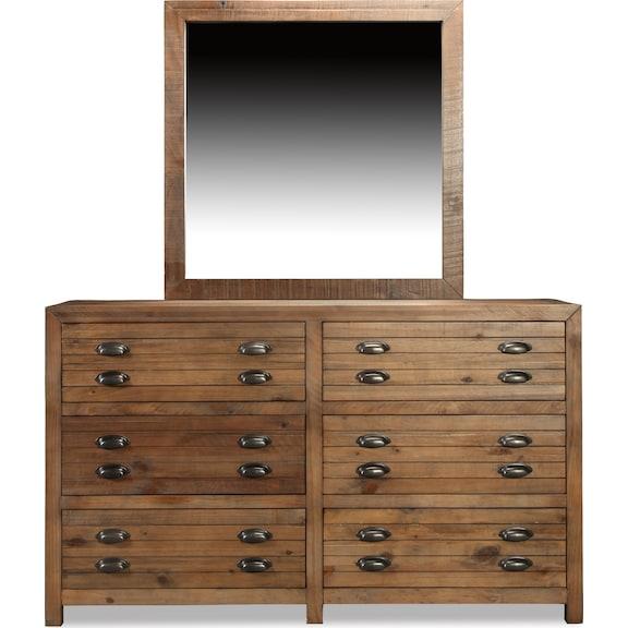 Bedroom Furniture - Pine Hollow Mirror