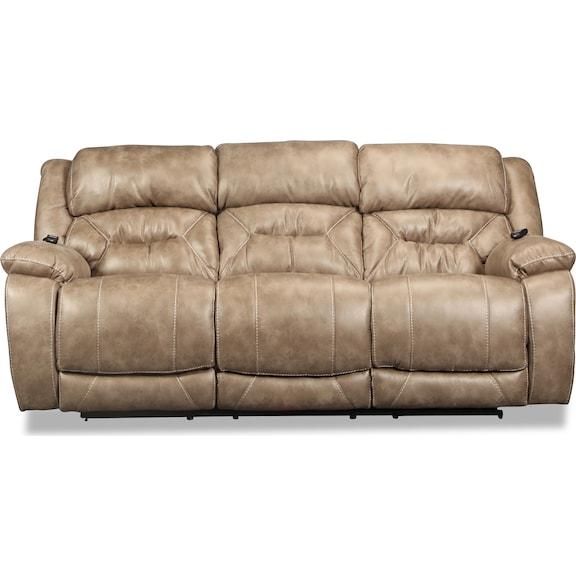 Living Room Furniture - Valor Power Reclining Sofa