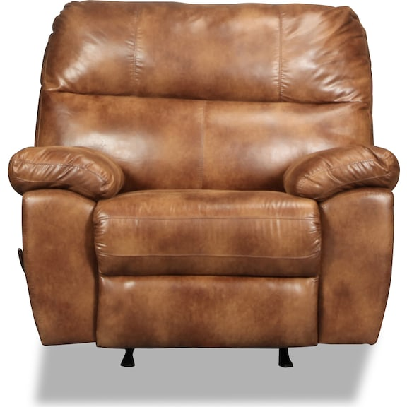 Living Room Furniture - Provo Rocker Recliner - Canyon