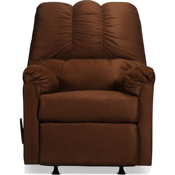 Living Room Furniture - Archer Rocker Recliner - Cafe