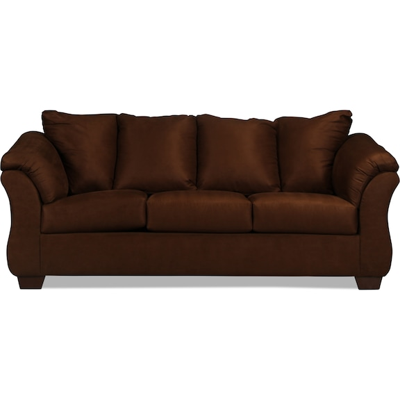 Living Room Furniture - Archer Full Sleeper Sofa - Cafe