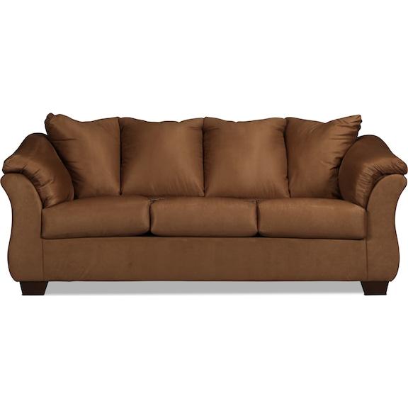 Living Room Furniture - Archer Full Sleeper Sofa - Mocha