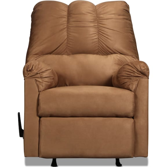 Living Room Furniture - Archer Rocker Recliner - Mocha