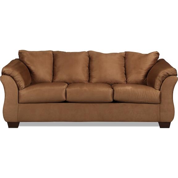 Living Room Furniture - Archer Sofa - Mocha
