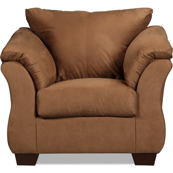 Living Room Furniture - Archer Chair - Mocha