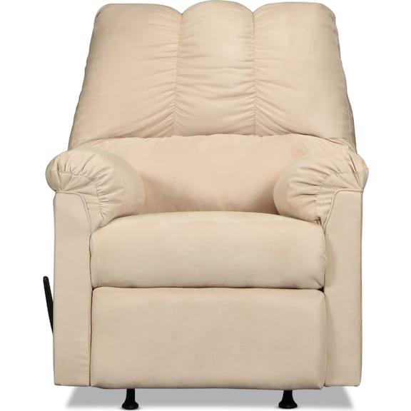Living Room Furniture - Archer Rocker Recliner - Stone