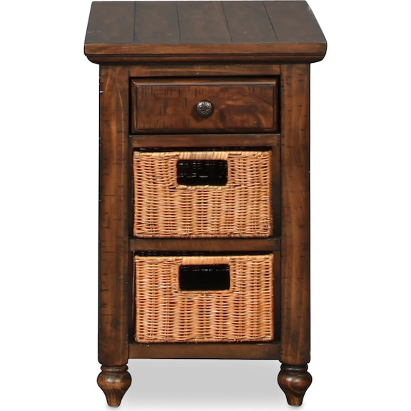Accent and Occasional Furniture - Cottage Lane End Table - Cherry