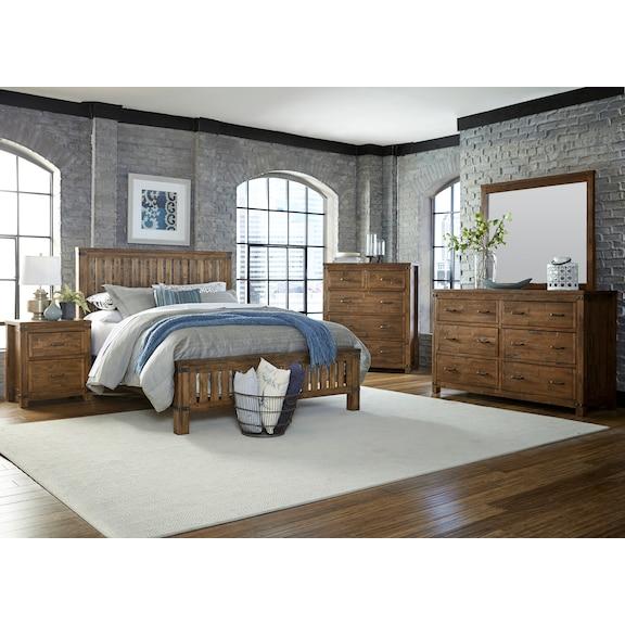 Bedroom Furniture - Everett 4pc King Bedroom