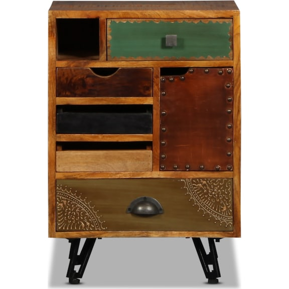 Accent and Occasional Furniture - Timis 5 Drawer End Table