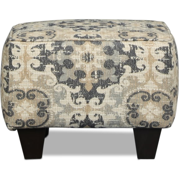 Living Room Furniture - Taylor Accent Ottoman
