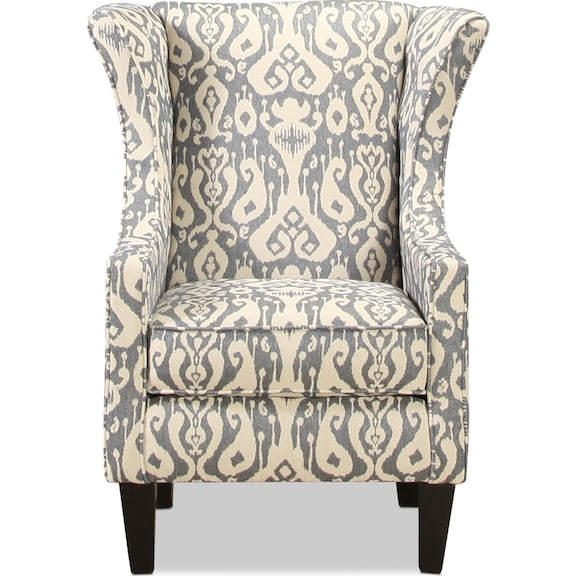 Living Room Furniture - Greenvale Accent Chair - Ikat