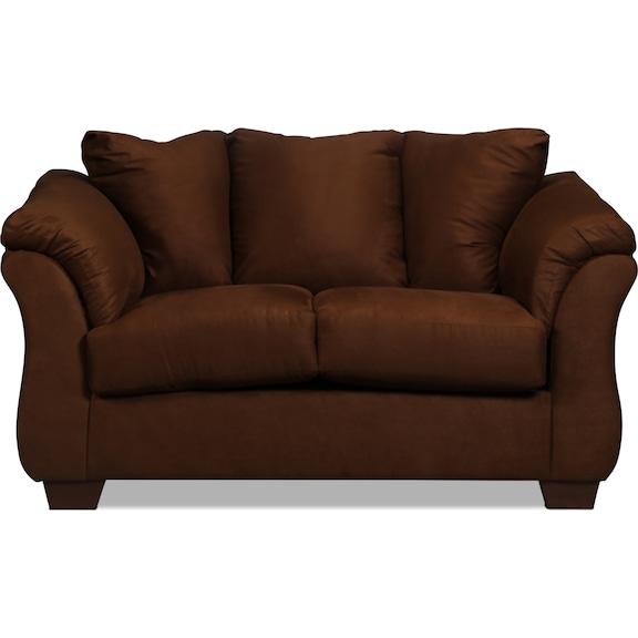 Living Room Furniture - Archer Loveseat - Cafe