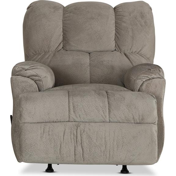 Living Room Furniture - Corbin Rocker Recliner - Beige