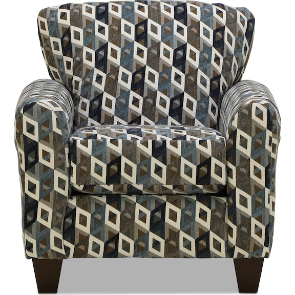 Living Room Furniture - Capri Accent Chair