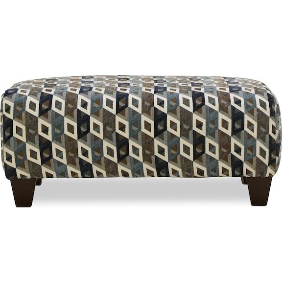 Living Room Furniture - Capri Cocktail Ottoman
