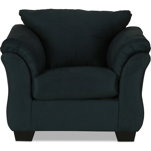 Living Room Furniture - Archer Chair - Navy