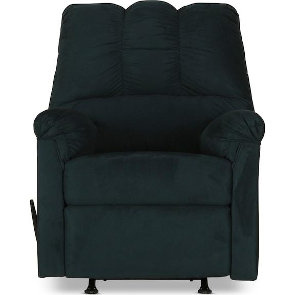 Living Room Furniture - Archer Rocker Recliner - Navy