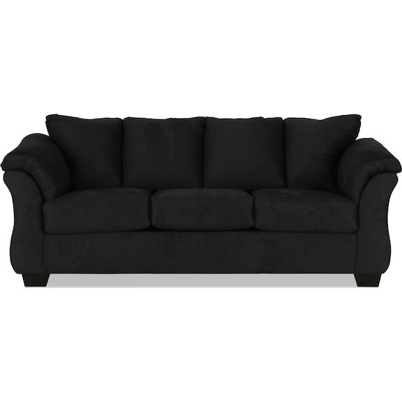 Living Room Furniture - Archer Sleeper Sofa - Black