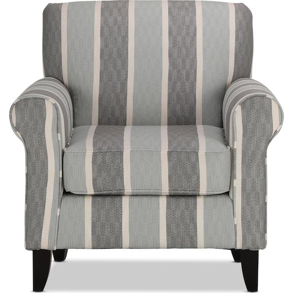 Living Room Furniture - Devon Accent Chair - Beach