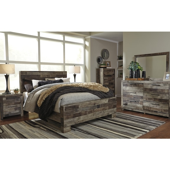 Bedroom Furniture - Weston 4pc Queen Bedroom