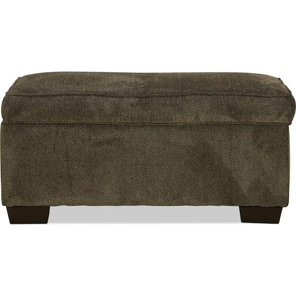 Living Room Furniture - Kentwood Storage Ottoman