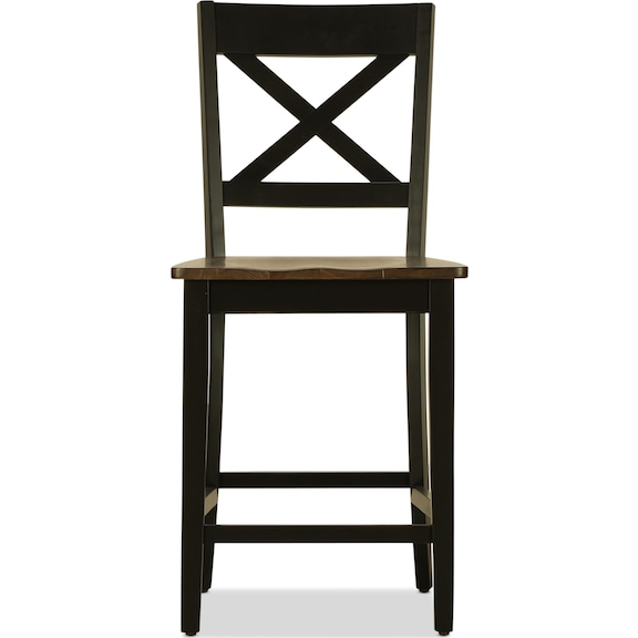 Dining Room Furniture - Sterling Counter-Height Stool - Black