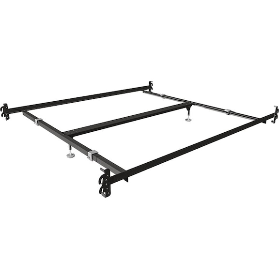 Mattresses and Bedding - Queen/King Rails with Center Support