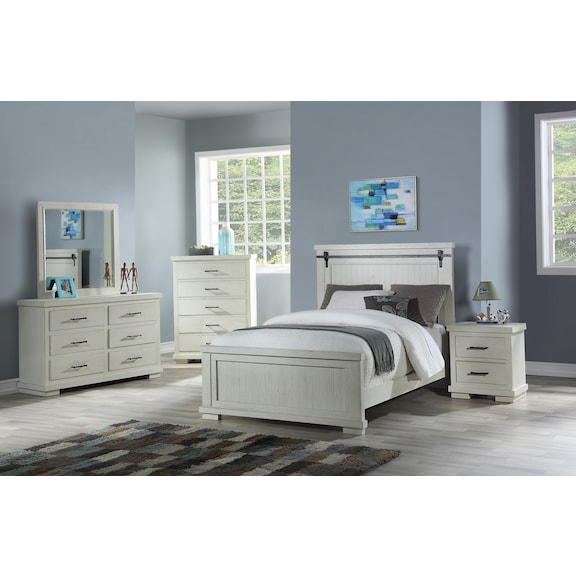 Kids Furniture - Andover 4pc Full Panel Bedroom