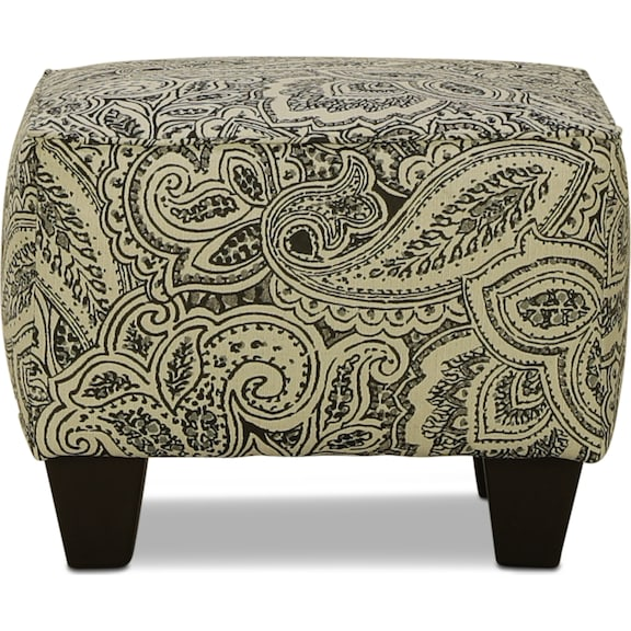 Living Room Furniture - Manhattan Accent Ottoman