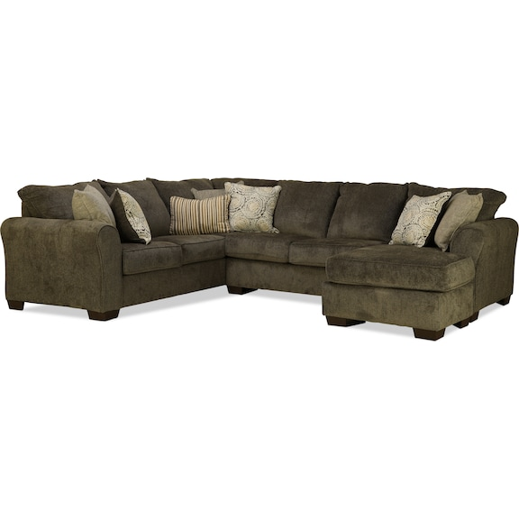 Living Room Furniture - Kentwood 2pc Sectional