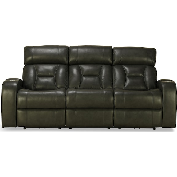 Living Room Furniture - Ashmere Power Reclining Sofa
