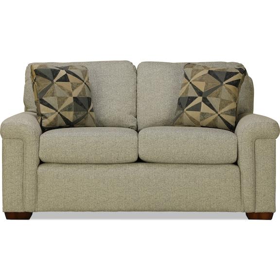 Living Room Furniture - Hailey Loveseat