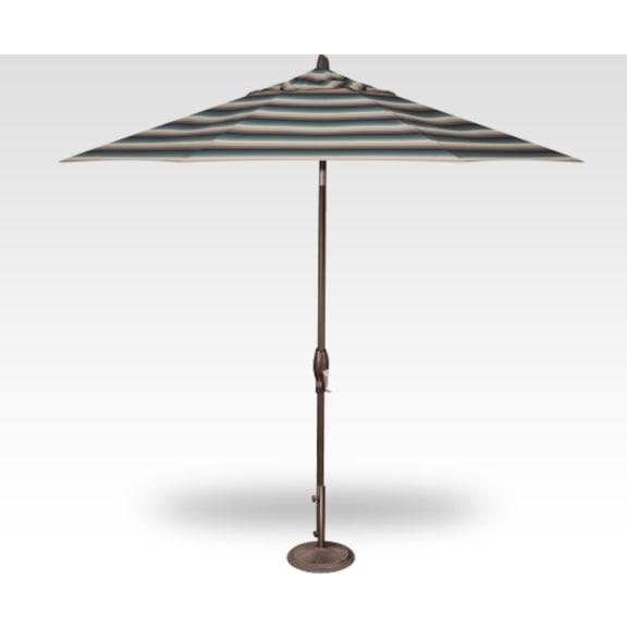 Outdoor Furniture - 9' Auto Tilt Octagon Umbrella