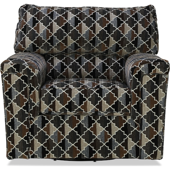 Living Room Furniture - Forina Accent Swivel Chair