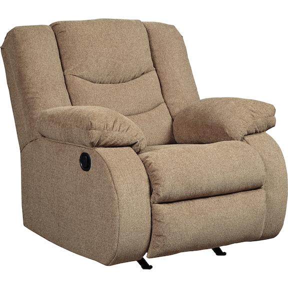 Living Room Furniture - Coppola Recliner - Mocha