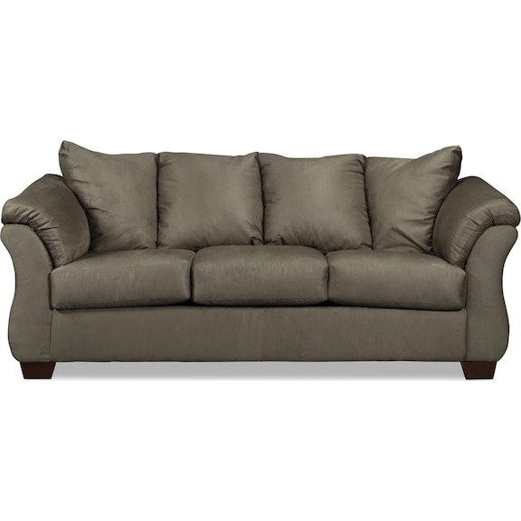 Living Room Furniture - Archer Sofa - Cobblestone