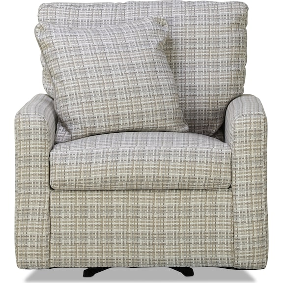 Living Room Furniture - Chene Accent Swivel Chair