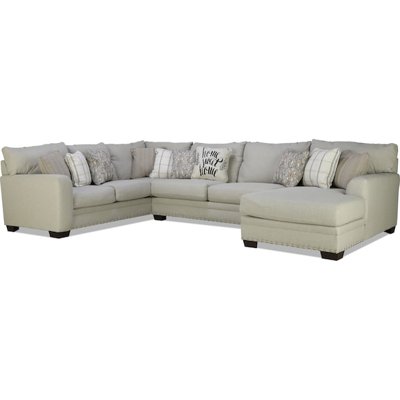 Living Room Furniture - Matera 3pc Sectional