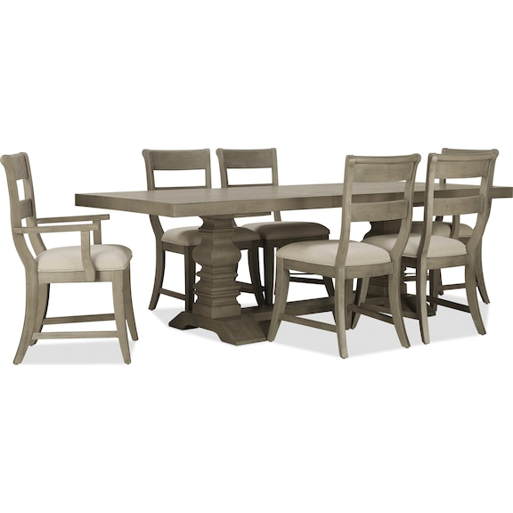Dining Room Furniture - Stella 7pc Dining