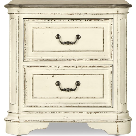 Bedroom Furniture - Marley 2 Drawer Nightstand