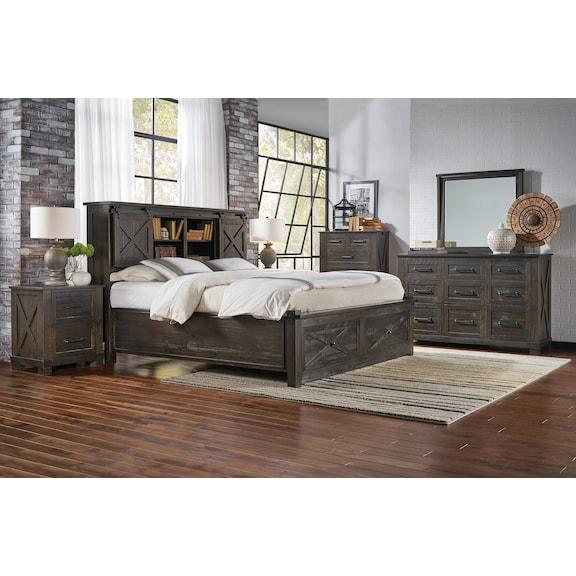 Bedroom Furniture - Liam 4pc King Storage Bedroom