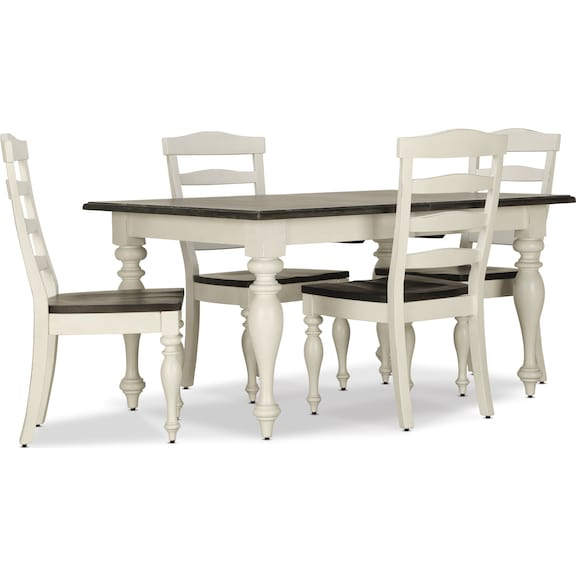 Dining Room Furniture - Carriage House 5pc Dining